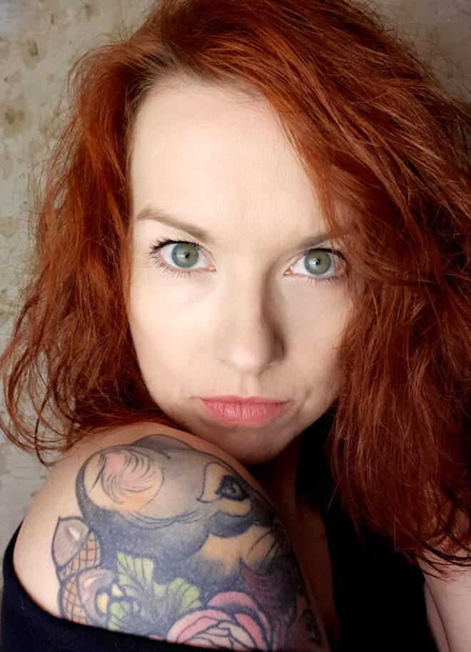 Die Sängerin Anika Loffhagen